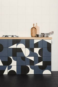Puzzle tiles by Barber & Osgerby Design: