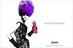 Stylish Exercising Ads: The Reebok Sports Club Campaign Focuses on Fashion and Health (by CentoeSeis, Brazil)