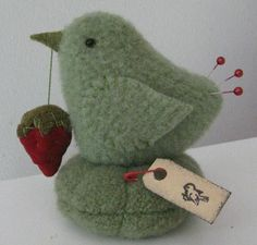Adorable Birdie Pin Cushion