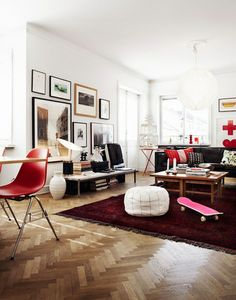 Anatomy of a Scandanavian Living Room by AphroChic on About