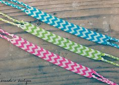 Double Chevron Friendship Bracelet by BrandiisBoutique on Etsy Diy Friendship Bracelets Easy, Diamond Friendship Bracelet, Friendship Bracelet Patterns, Embroidery Thread Bracelets, Yarn Bracelets, Unique Bracelets, Diy Necklace Bracelet, Bracelet Crafts, Bracelet Tutorial