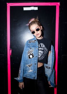 KRESSH : Photo || Gigi backstage at the Marc Jacobs SS17 show during NYFW - Sep. 15, 2016