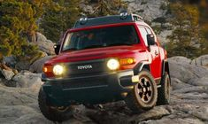 Toyota FJ Cruiser in (TTE) Radiant Red (3L5) from 2012-2012 #1