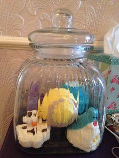 My lush bomb jar