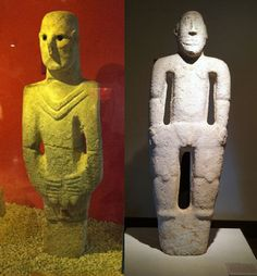 Ancient connections between Göbekli Tepe and Peru, guy on the left reminds me of Star Trek.