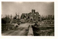 Kasteel Bleijenbeek vlak na de 2e wereldoorlog