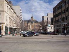 21st Street in downtown Saskatoon
