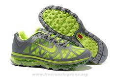 429889-033 Mens Grey Volt Shoes Nike Air Max 2011 Free Running S