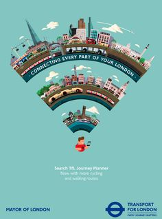 Transport for London by Hey Studio (via Behance).