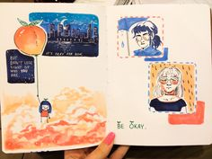 Pages 47 & 48 drew these in Starbucks