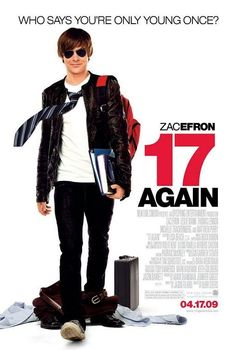 17 Again on DVD August 2009 starring Zac Efron, Matthew Perry, Leslie Mann, Michelle Trachtenberg. What would you do if you got a second shot at life? Class of Mike O'Donnell is a star on his high school basketball court with a colle Movies 17, Funny Movies, Comedy Movies, Great Movies, Movies Online, Movies And Tv Shows, Watch Movies, Teen Movies, Movie Film