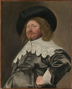 Portrait of a Man, possibly Nicolaes Pietersz Duyst van Voorhout (born about 1600, died 1650)  Frans Hals - 1636-38.