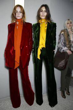 Emilio Pucci 2014/2015 velvet suits