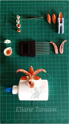 Quilling tutorial by ♧ The Quilling Fairies ♧ ( Facebook )