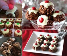 Mars Bar Christmas Pudding Chocolate Crackles