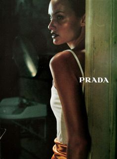 Amber Valletta | Photography by Glen Luchford | For Prada Campaign | Fall 1997