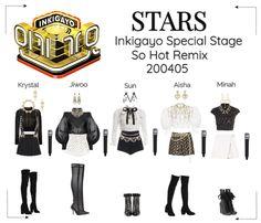 Concert Fashion, Fashion Idol, Kpop Fashion Outfits, Stage Outfits, Dance Outfits, Fall Outfits, K Pop, Korea Dress, Polyvore Outfits
