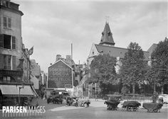 Eglise Saint-Médard (Vème arrondissement). Paris, vers 1925.