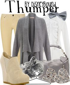 Thumper from Bambi inspired outfit by DisneyBound