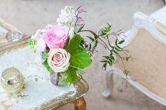 RENTALS La Tavola Fine Linen Rental One True Love Vintage Rentals Classic Party Rentals PHOTOGRAPHY Kate Webber Weddings {click through for vendor list}