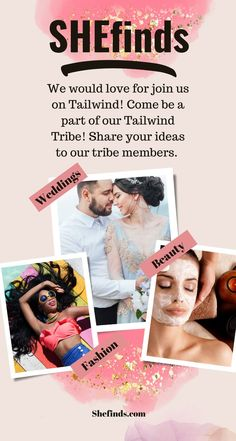 We would love for you to join our tribe on tailwind. Share your favorite wedding, beauty, fashion, products and health ideas with us. While you're there take a look at all of our favorites. You can send them to all your tribe members or pin them automatically to Pinterest. Beauty Advice, Beauty Hacks, Skin Makeup, Beauty Makeup, Haute Couture Designers, Service Projects, Beauty Magazine, Drugstore Makeup, Wedding Beauty