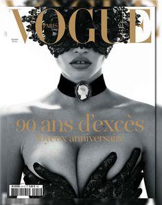 Vogue Paris October 2010 Cover ▪ Photographer: Mert & Marcus ▪ Model: Lara Stone