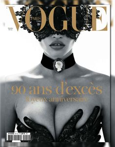 Vogue Paris October 2010 Cover ▪ Photographer: Mert & Marcus ▪ Model: Lara Stone