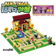 32.98$  Buy here - https://alitems.com/g/1e8d114494b01f4c715516525dc3e8/?i=5&ulp=https%3A%2F%2Fwww.aliexpress.com%2Fitem%2FNew-arrive-plants-vs-zombies-Garden-maze-struck-game-action-toy-figures-anime-figure-Building-Blocks%2F32781392833.html - New arrive plants vs zombies Garden maze struck game action toy & figures anime figure Building Blocks Bricks brinquedos toys 32.98$