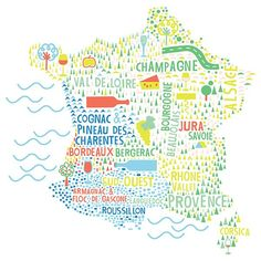 France Map - Download map of France showing its capital, cities ...