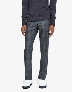 Paul Pants Italian Wool Glencheck        #mensfashion #fashion #pants #ad