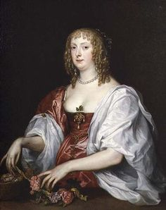 Catherine Bruce Murray, Countess of  Dysart by Van Dyck