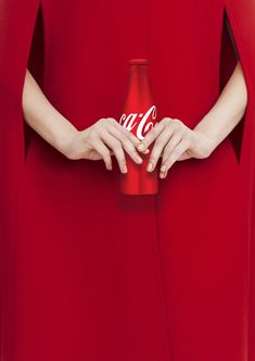 Love and Beauty. Coca-Cola is a stylish brand again.