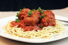 Mama's Best Ever Spaghetti & Meatballs con queso derretido – Mi Diario de Cocina