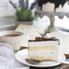 Торт «Птичье молоко».