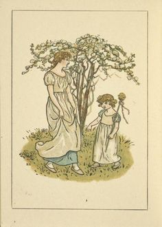 May - Kate Greenaway's Almanack for 1893