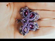 Beading Tutorials, Beading Patterns, Seed Bead Jewelry, Beaded Jewelry, Beaded Necklace Patterns, Beaded Animals, Handmade Beads, Beads And Wire, Bead Weaving