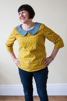 Alma Blouse Pattern Uk 32