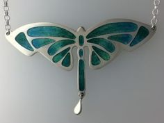 Dragonfly Pendant   Linda Connelly Enamels and Jewellery