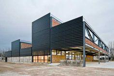 Escuela de Arte y Diseño de Amposta. David Sebastian+Gerard Puig