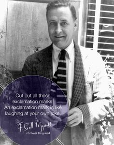 A quote by F. Scott Fitzgerald / source: 30 posters with writing tips by famous authors http://ebks.to/15fINly