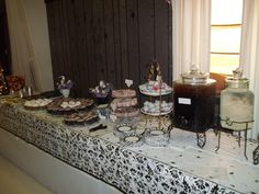 cookie table at shower