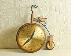 Tricycle Clock