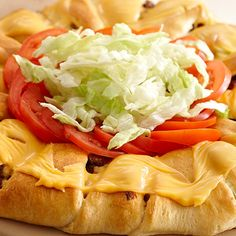All-American Cheeseburger Ring - The Pampered Chef®