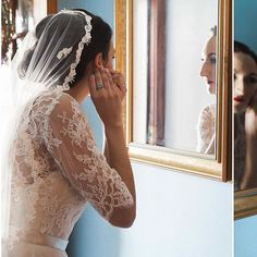 Italian bride getting ready photos by Heather Prosser Photography . Finishing touches putting on earrings is so simple but so lovely. Wedding Veil, Wedding Day, Wedding Dresses, Image Photography, Lifestyle Photography, Toronto Wedding Photographer, Bride Getting Ready, Put On, Weddings