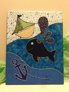 Nautical Baby Nursery Art via Etsy