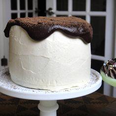 Tasty vegan birthday cake recipe using Earth Balance and Dutch cocoa