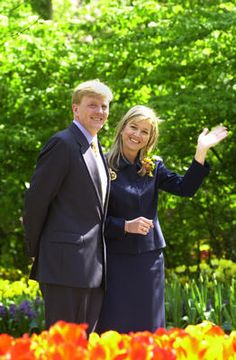 Crown Princess Máxima Picture Thread, Part 1 (April 2004 - April 2005) - Page 7 - The Royal Forums
