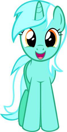 Smiling Lyra Heartstrings MLP