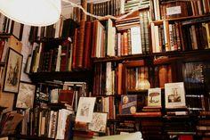 The Old Town Bookshop, Edinburgh  Front desk, August 20th 2011