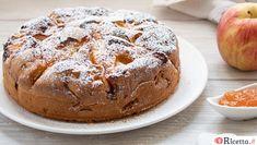 Ricetta Torta di mele e marmellata - Consigli e Ingredienti | Ricetta.it Burritos, Keto Chocolate Chip Cookies, Italian Cake, Biscotti, Mini Desserts, Italian Recipes, Cake Recipes, Buffet, Food And Drink